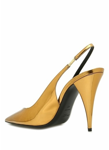 Saint Laurent Ayakkabı Altın